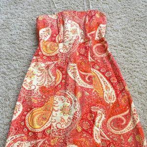Tie back dress, Size 2